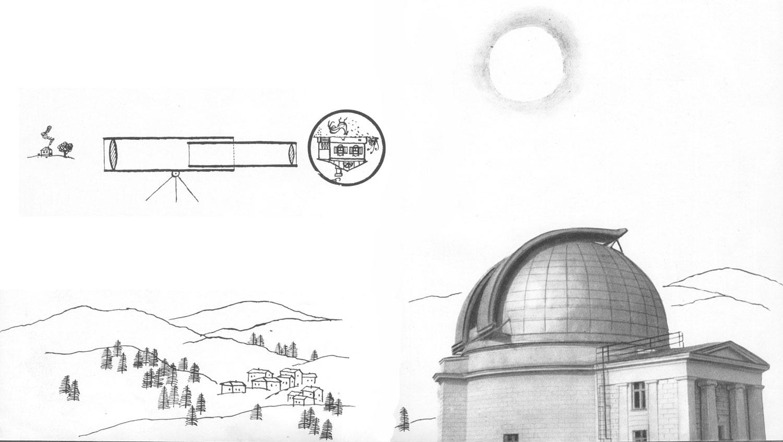 почему телескоп вверх ногами