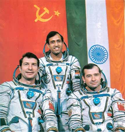 Советско индийский космический